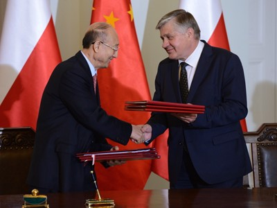 W Warszawie podpisano memorandum polsko-chińskie o współpracy ws. bezpieczeństwa żywności