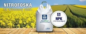 YaraMila™ NPK 21-6-12 +S+Mg+B