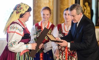 Wręczono nagrody im. Kolberga dla twórców kultury ludowej