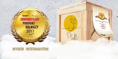 Pakiet ŻePak z tytułem Innowacyjny Produkt Rolniczy 2017