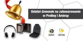 Zamów Protinę i Amirap przed świętami!