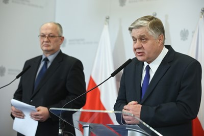 Jurgiel: prezes stadniny w Janowie oddał się do dyspozycji; niezwłocznie będzie powołany p.o.