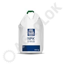 Yara NPK 5-10-25+7S 500kg